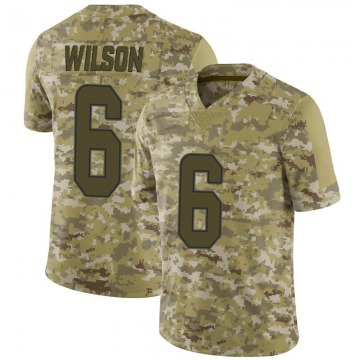Men's Stone Wilson Miami Dolphins Nike Limited 2018 Salute to Service Jersey - Camo
