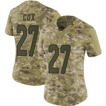 Women's Chandler Cox Miami Dolphins Nike Limited 2018 Salute to Service Jersey - Camo