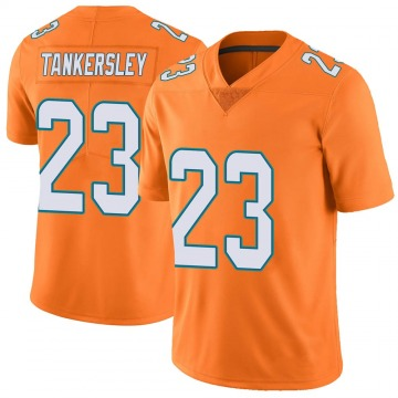 Youth Cordrea Tankersley Miami Dolphins Nike Limited Color Rush Jersey - Orange