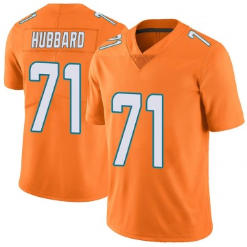 Youth Jonathan Hubbard Miami Dolphins Nike Limited Color Rush Jersey - Orange