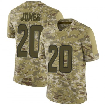 Youth Reshad Jones Miami Dolphins Nike Limited 2018 Salute to Service Jersey - Camo